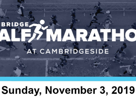 Cambridge Half Marathon - Charity Bibs