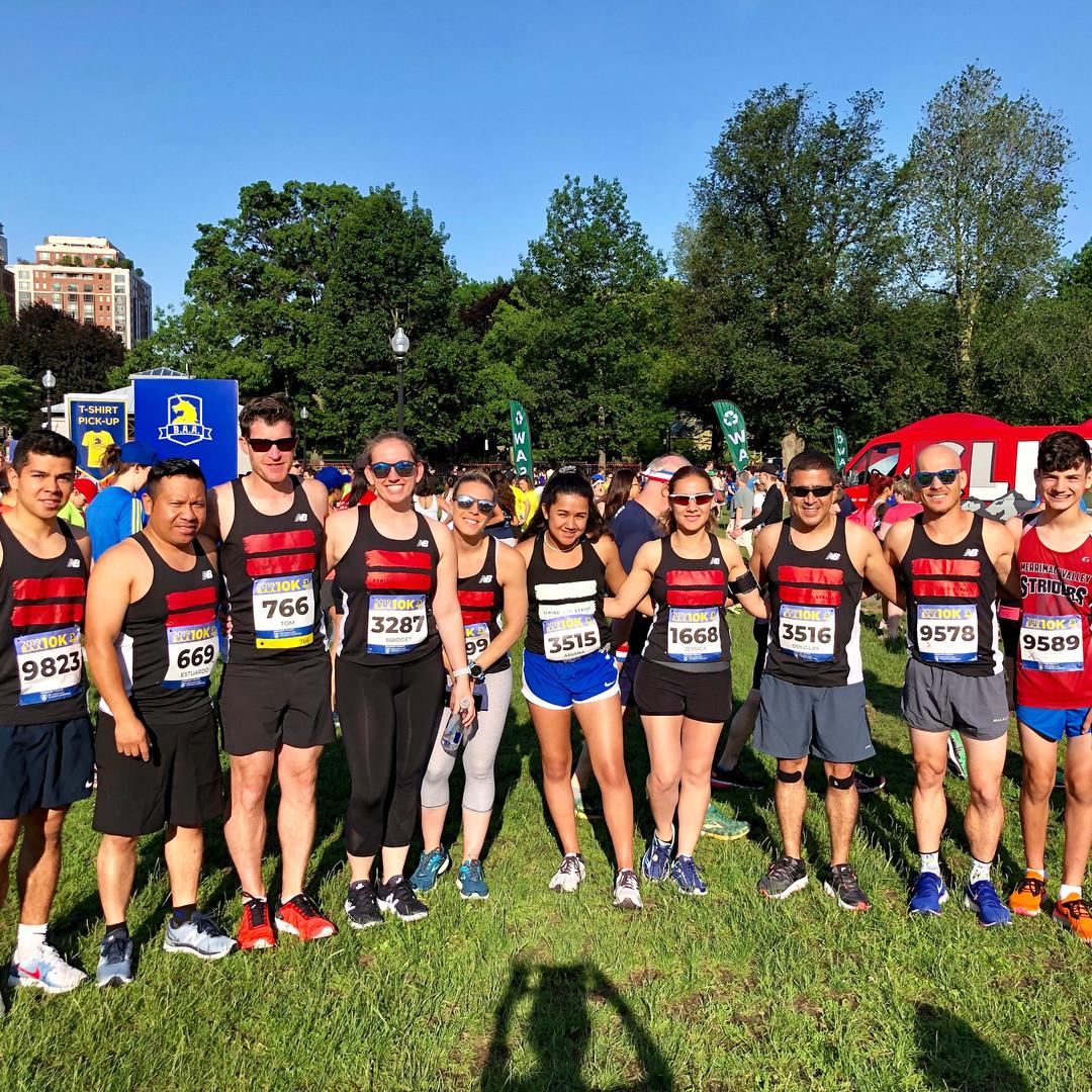 Team Stride for Stride at BAA 10K