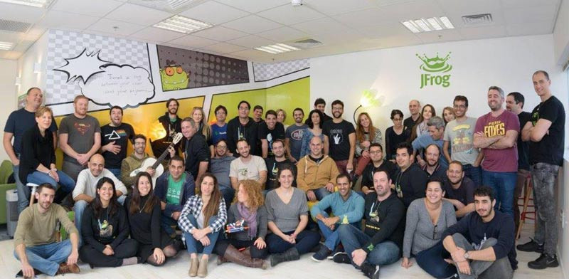 Israeli DevOps platform JFrog raises $165 million with valuation over $1 billion