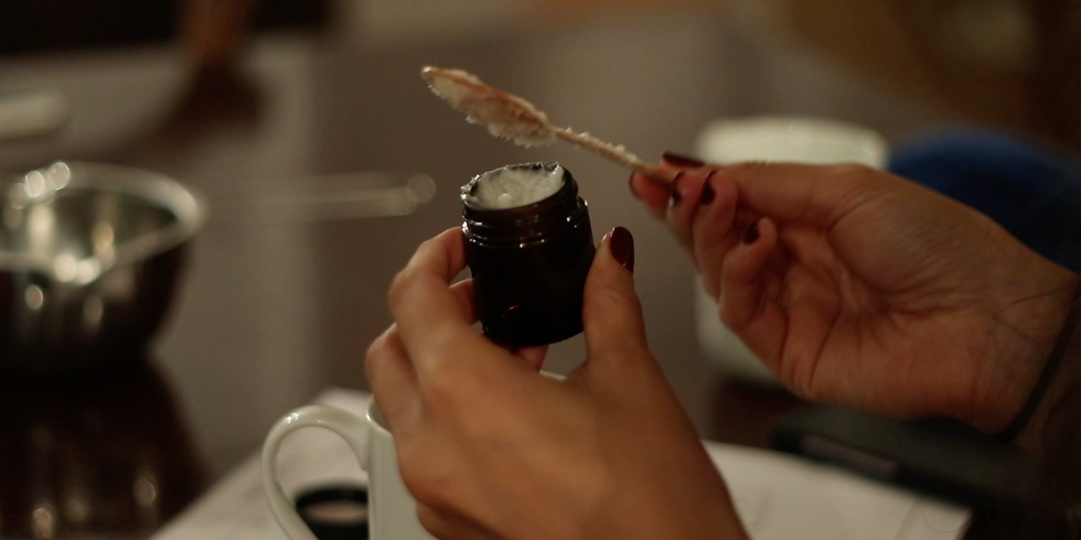 DIY skin care workshop + herbal tea tasting