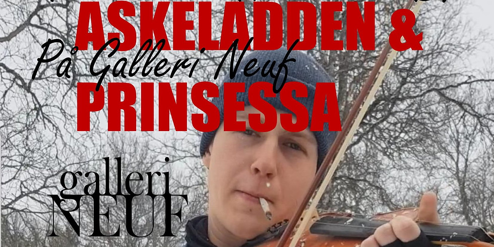 Askeladden & Prinsessa inviterer til HaveselskaB