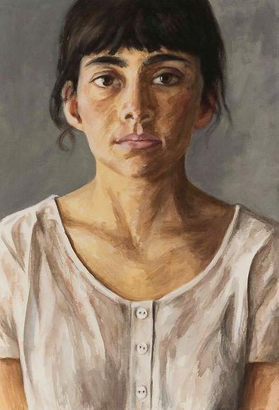 Acryl-Portrait 5149 (Juli2016) 110x75cm | Nikolaus Reinecke