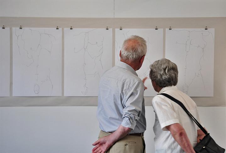 Intensive Begegnungen | Nikolaus Reinecke | Zeichnungen