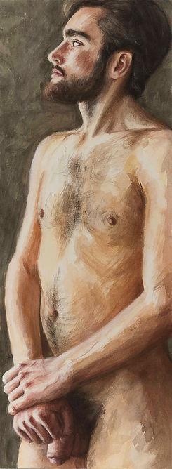 5139 Mai 2017 150x55 cm | Nikolaus Reinecke