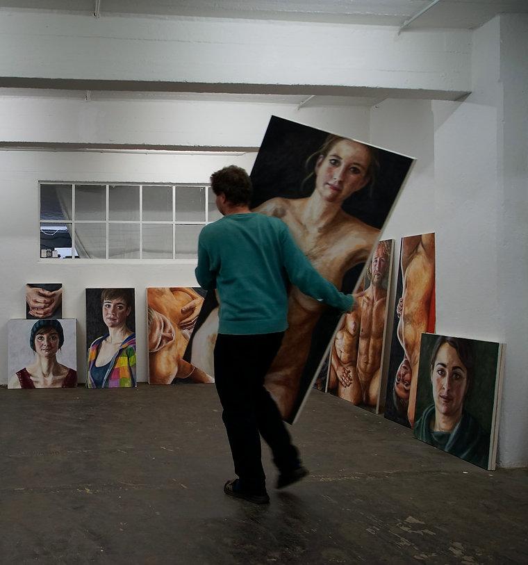 Ausstellungen | Nikolaus Reinecke | Aufbau
