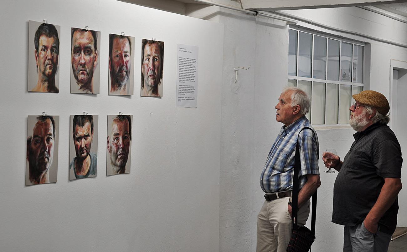Intensive Begegnungen   Nikolaus Reinecke   Selbstportraits