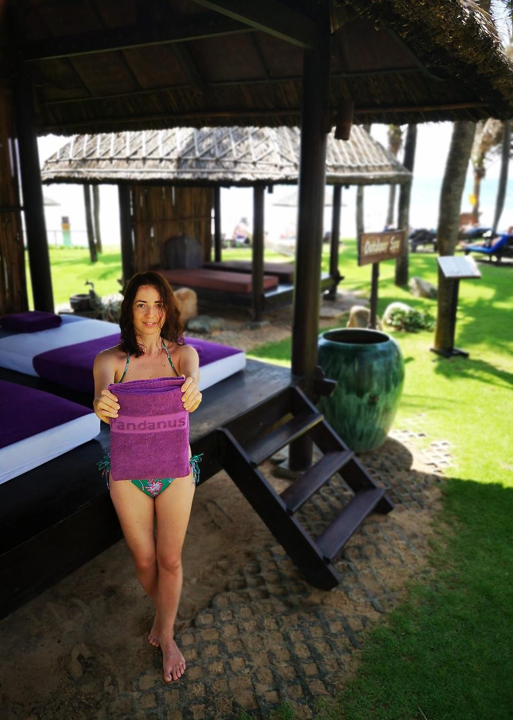 Luxury Spa treatments and massages in Pandanus Resort. Mui Ne, Vietnam
