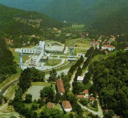 Panorama Kuršumlijske banje
