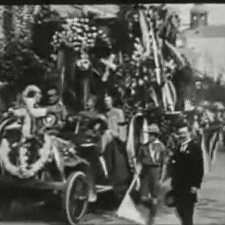 100. година од смрти Краља Петра I Карађорђевића и заставе Гвозденог пука на његовом ковчегу