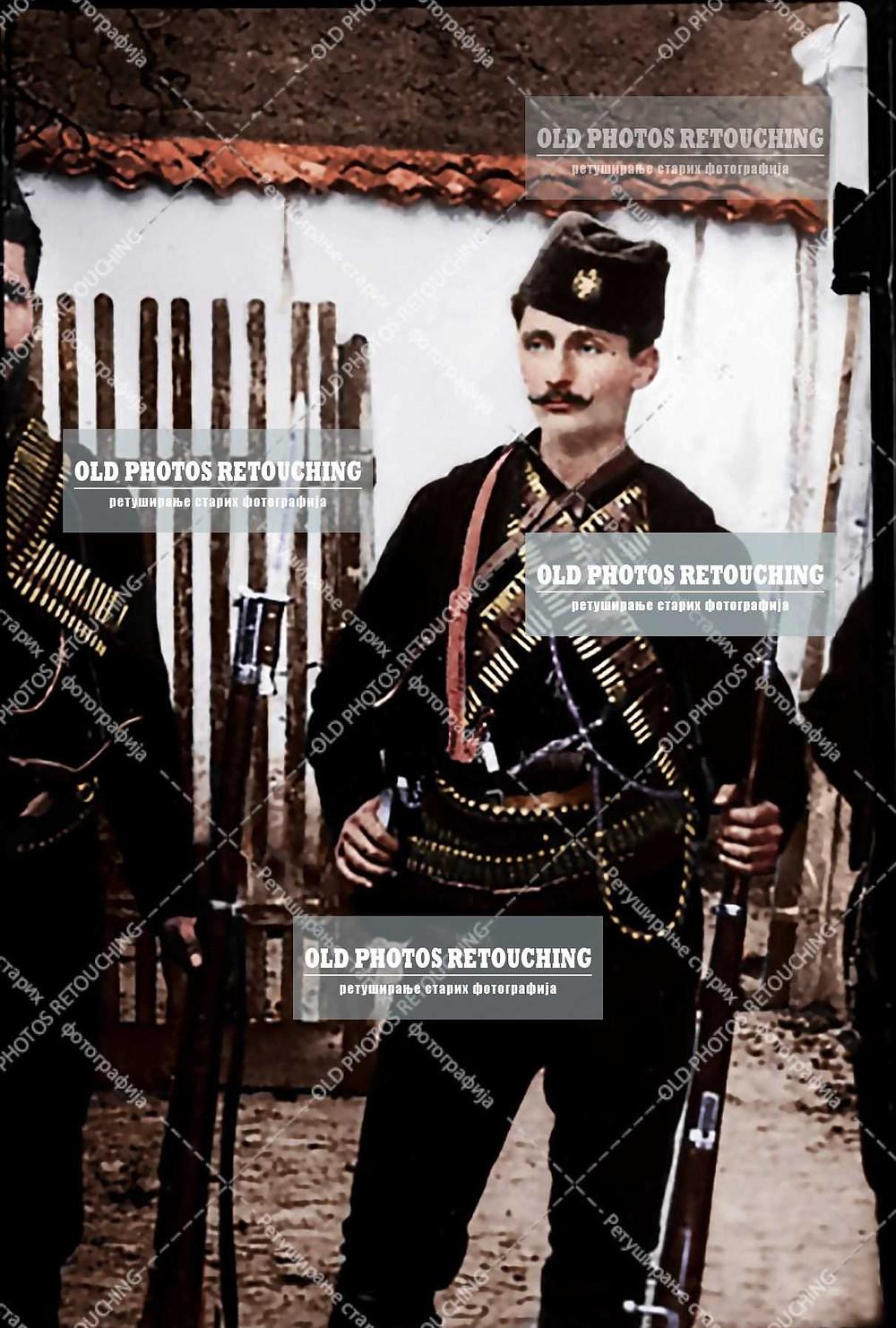 vojvoda Tankosic uoci prvog balkanskog rata vojvoda tankosic Merdare vojislav voja tankosic
