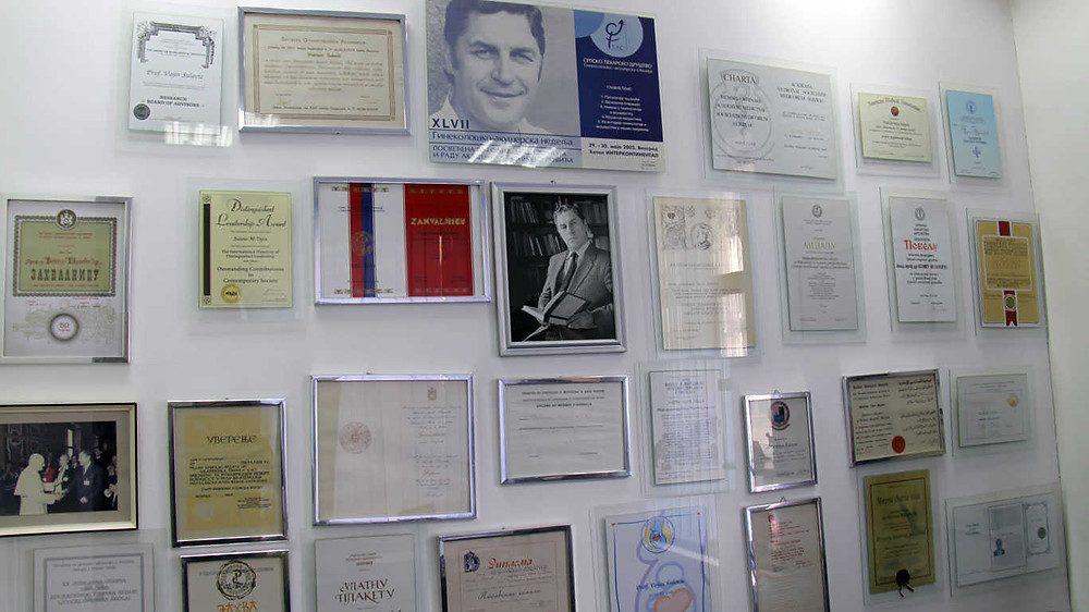 soba legata akademika vojina sulovića u Kursumliji