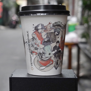 Illustration for Coffee Republic