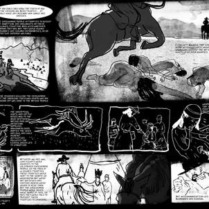 """Storyboard for Graphic Novel """"Luna"""""""