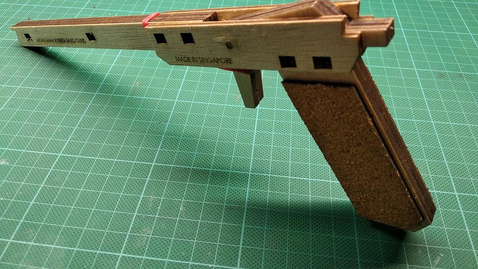 PU1 Single Shot Rubber Band Gun