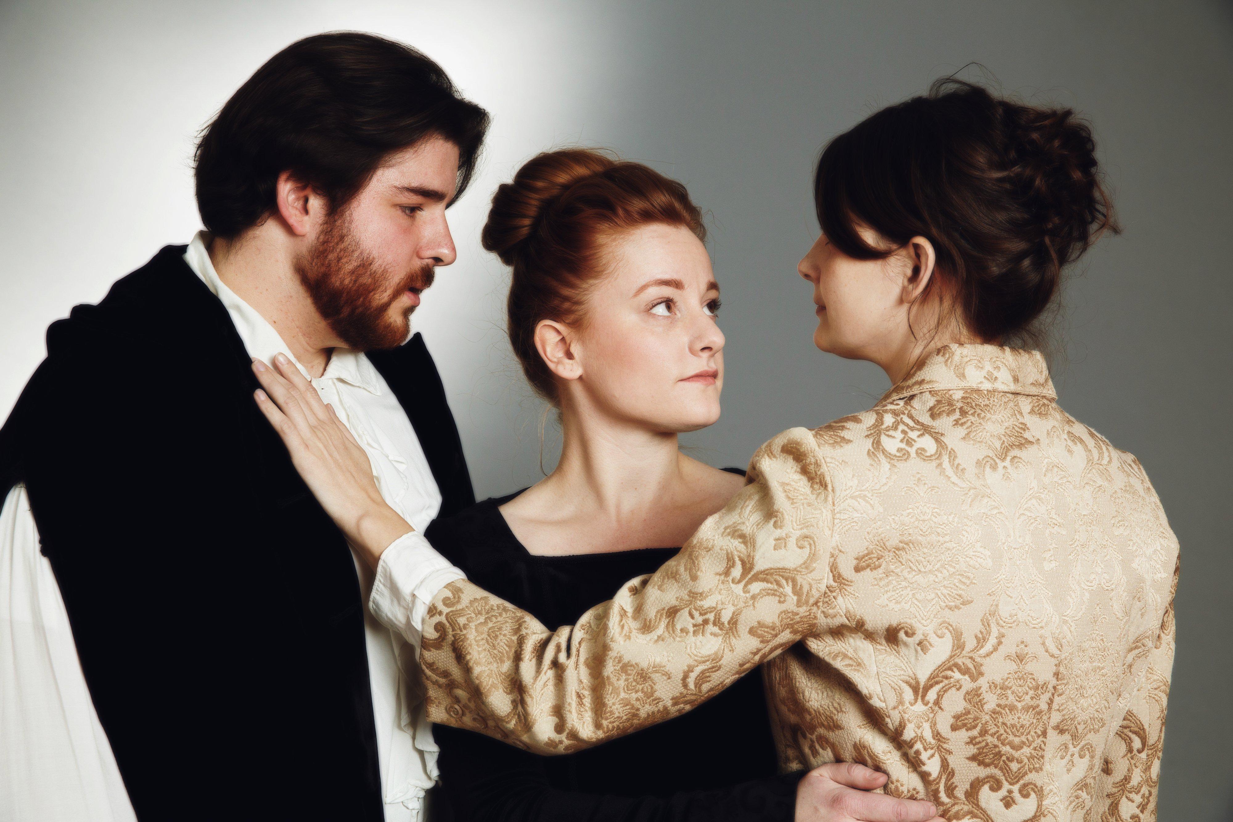 1. Orsino, Olivia, Viola Love Triangle