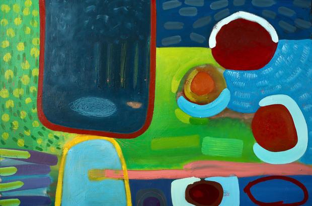 Tryweryn- Oil on Canvas / Olew ar Ganfas 90cm x60cm