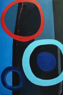 Oil on Canvas / Olew ar Ganfas 90cm x 60cm