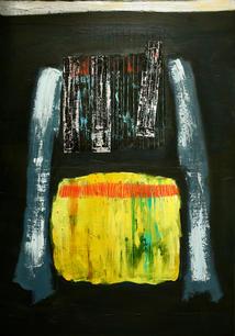 Mixed media on Canvas / Aml-gyfrwng ar Ganfas 100cm x70cm