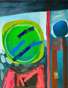 Oil on Canvas / Olew ar Ganfas 90cm x70cm