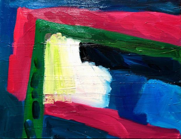 Oil on Canvas / Olew ar Ganfas 60cm x47m