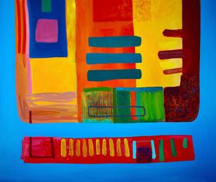Oil on Canvas / Olew ar Ganfas 120cm x 100cm