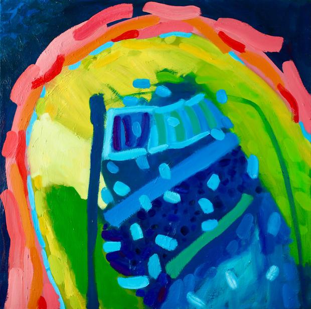 Oil on Canvas / Olew ar Ganfas 80cm x80cm
