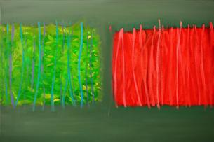 Mixed media on Canvas / Aml-gyfrwng ar Ganfas 90cm x 60cm