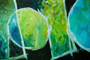 Oil on Canvas / Olew ar Ganfas 120cm x80cm