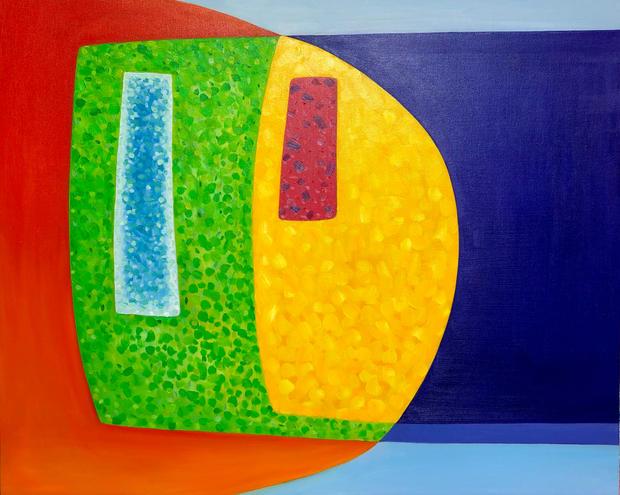 Oil on Canvas / Olew ar Ganfas 100cm x 80cm