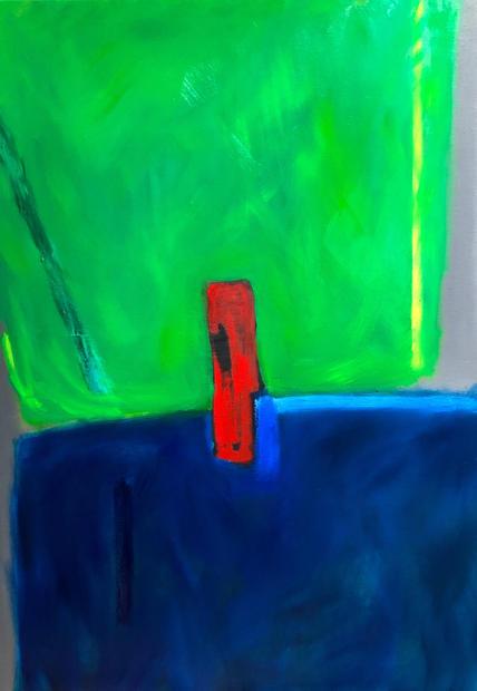 Oil on Canvas / Olew ar Ganfas 100cm x 70cm