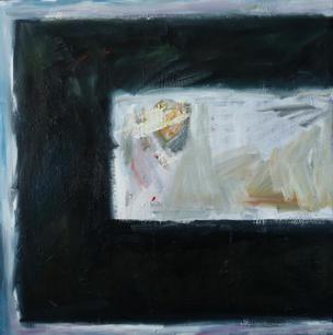 Oil on Canvas / Olew ar Ganfas 90cm x 90cm