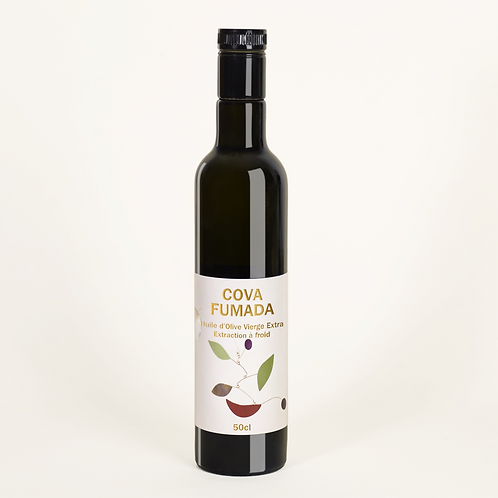 Huile d'olive extra vierge - Fruité vert - Variété Farga 2020 - 500ml