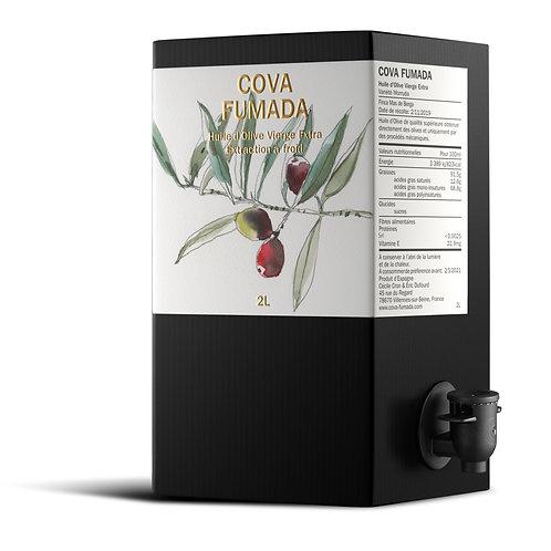 Huile d'olive extra vierge - Fruité Vert - Variété Morruda 2019        2L