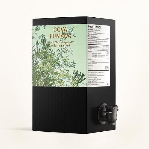 Huile d'olive extra vierge - Fruité vert Intense - Variété Morruda 2020 - 2L