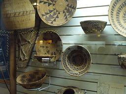 Yokut Woven Baskets