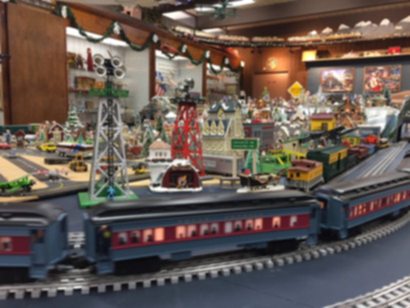 Toy Train Layout