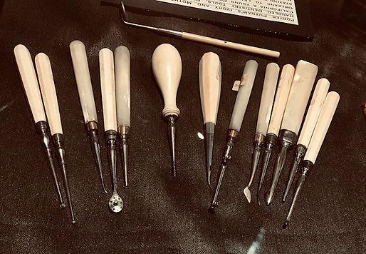 vintage dental instrumens