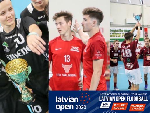 """""""Latvian Open 2020"""" triumfē """"FBK Valmiera"""", """"Rubene"""" un """"Kuldīga/KNSS"""""""