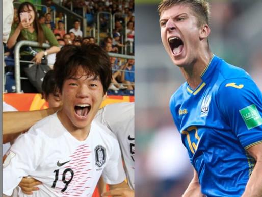 Kāpēc Ukraina un Koreja spēlēs Pasaules kausa U20 finālā?