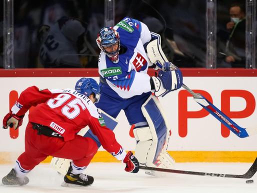 Čehija samet slovāku vārtos septiņas ripas, un ceturtdaļfinālā spēlēs ar Somiju