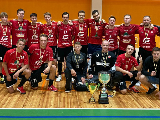 """""""Lielvārde/Fatpipe"""" kļūst par """"Salming Cup 2020"""" čempioniem"""