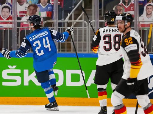 Somija minimāli pieveic Vāciju un iekļūst Pasaules čempionāta finālā