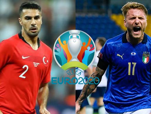 Itālija pret Turciju. Lai sākas Eiropas čempionāts futbolā