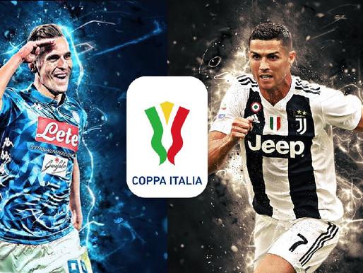 """Itālijas kausa finālā cīnīsies """"Juventus"""" un """"Napoli"""""""