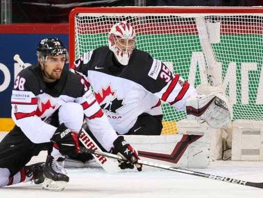 Kanāda un Somija saspringtās spēlēs kvalificējas pusfinālam