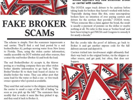 Fake Broker Scams
