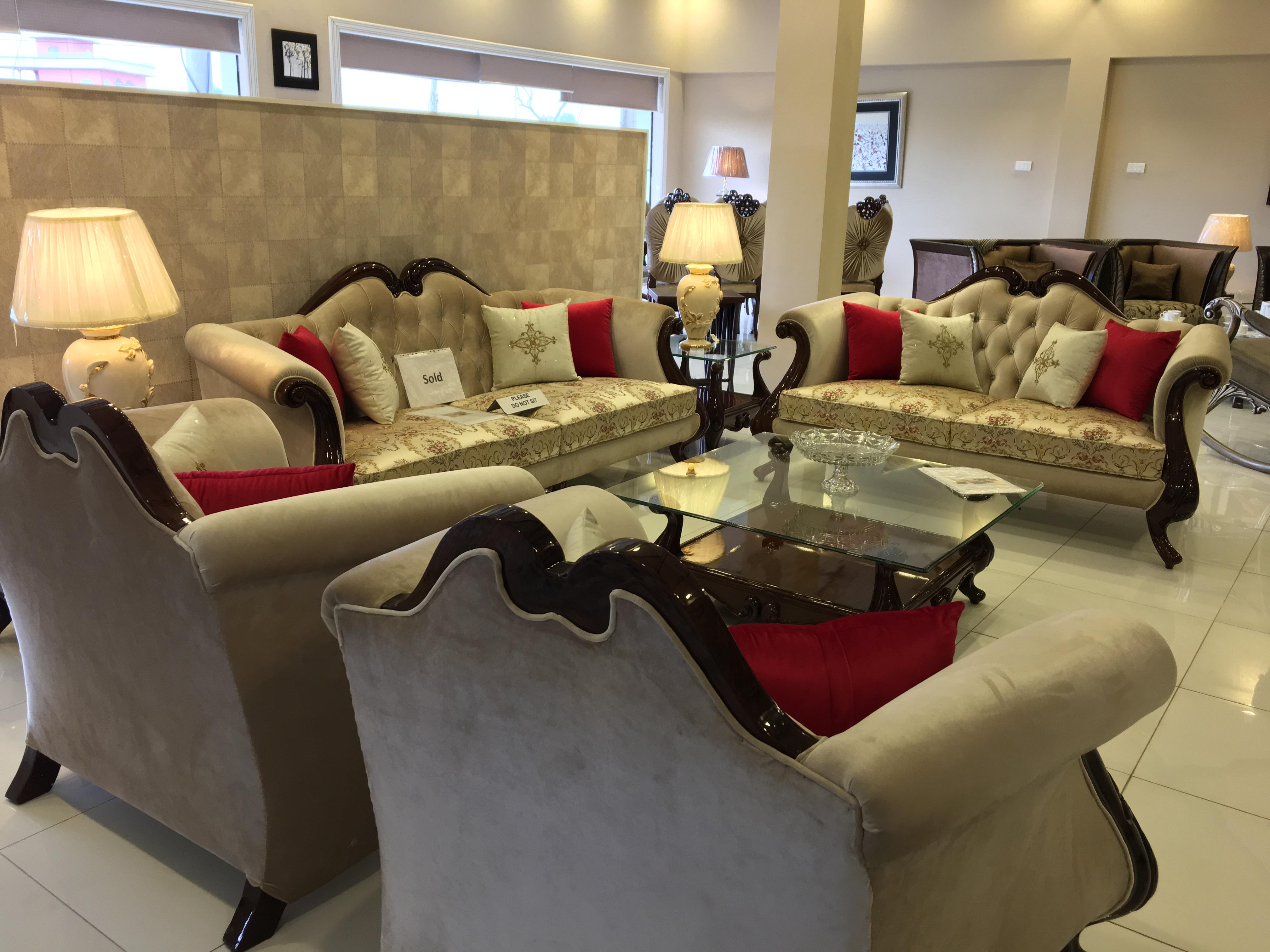 Living Room Punjab Afnan Furniture