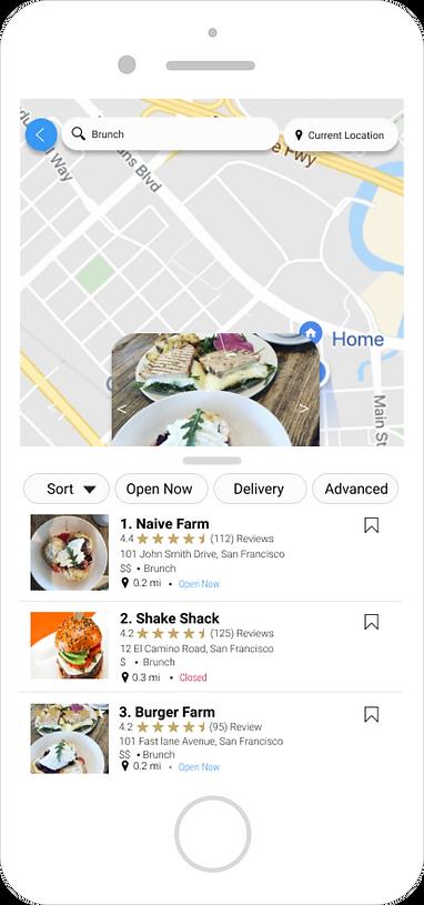 Restaurant Interactive Map