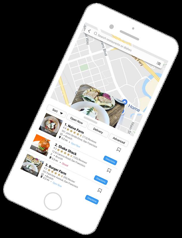 Cravve Restaurant Map