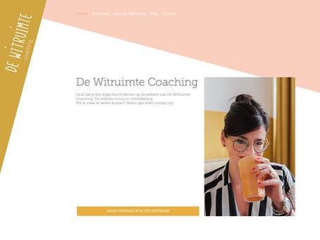 De website van www.dewitruimte.nl online!